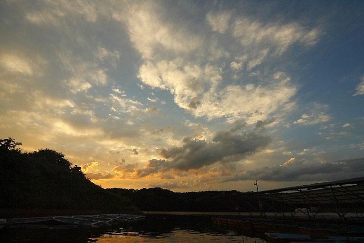宮沢湖の日没は本当に美しい、また来シーズンプライベートで来ようと思う