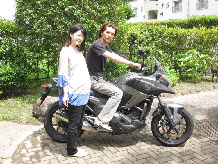 ムコ殿も以前はバイク乗りで、XJR1200に乗っていた