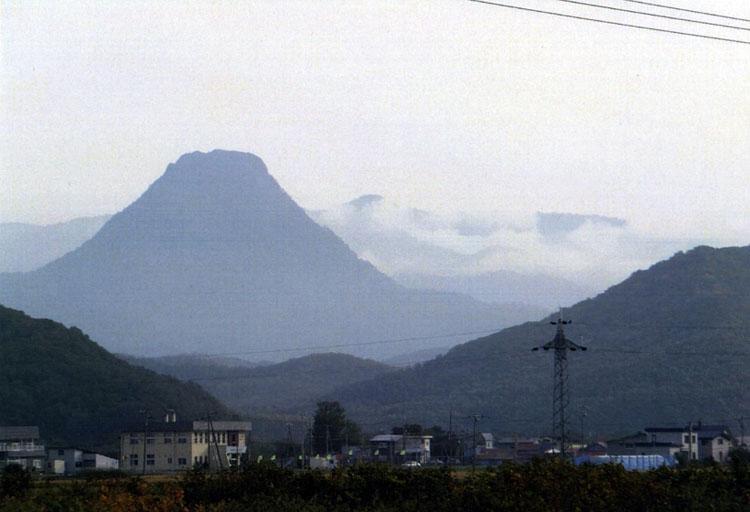 コレ、誰がどう見ても富士山だよね!?何という町で見たのか、ちょっと忘れちゃったけどサ