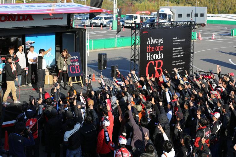プジャンケン大会では協賛スポンサーから提供された賞品を狙って、熱戦が展開された。ライダージャケット、バッグやパーツなど多様な賞品に本気度100%