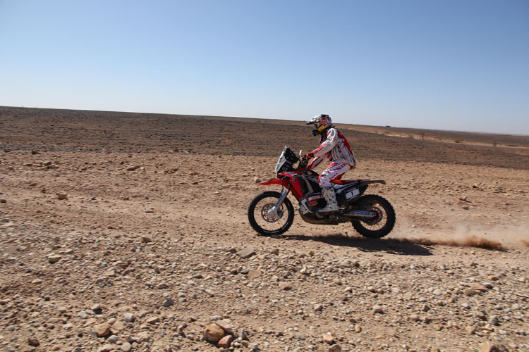 エルダー・ロドリゲスもクレバーな走りを見せる