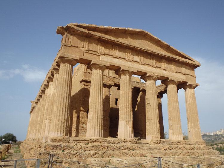 アグリジェントにはローマ遺跡がたくさん残ってます