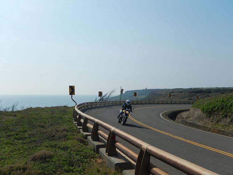台湾一周ツアーのハイライト、最南端の岬付