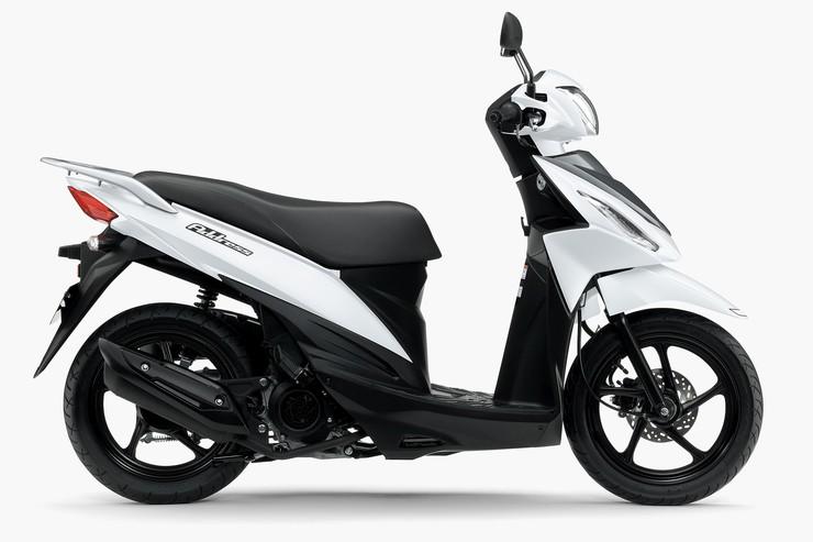 原付二種アドレスにニューモデル アドレス110 を新発売 web mr bike