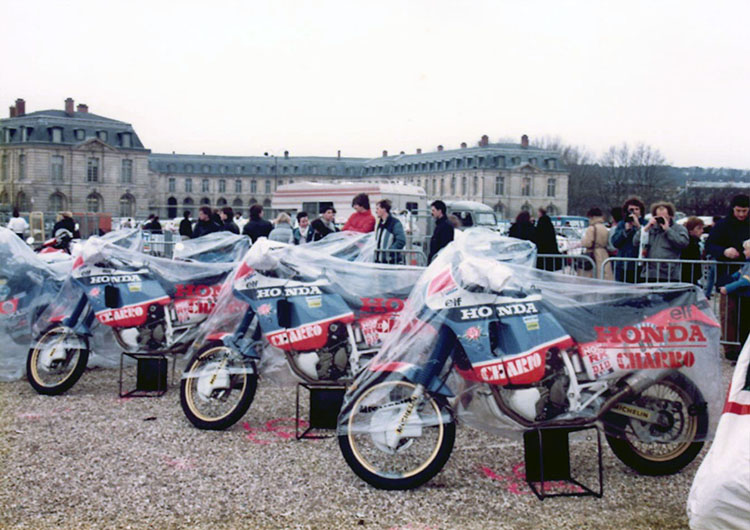 Paris・Dakar