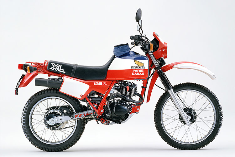 1982年 XL125R PARIS-DAKAR
