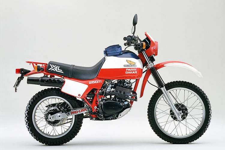 1982年 XL250R PARIS-DAKAR