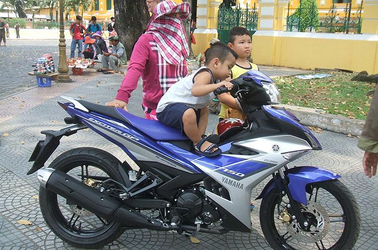 その昔、ベトナムではバイクのことを「ホンダ」と呼んだが、今ではヤマハも元気です!