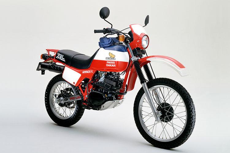 XL250Rパリダカ