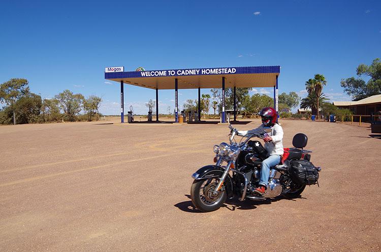 ハイウェイを走る限り、ガス欠にならない程度にガソリンスタンドはある