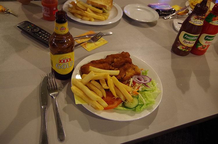 オーストラリアの料理といえば、こんな感じ……