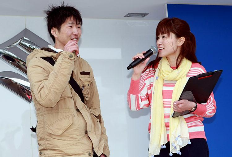 「今日の一番さん」東日本遠来賞は福岡県北九州市から。「2日前に家を出発しました」