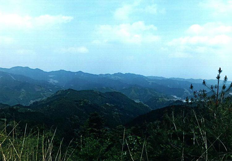 やっと着きました。天気がよかったので美しい風景が見渡せます