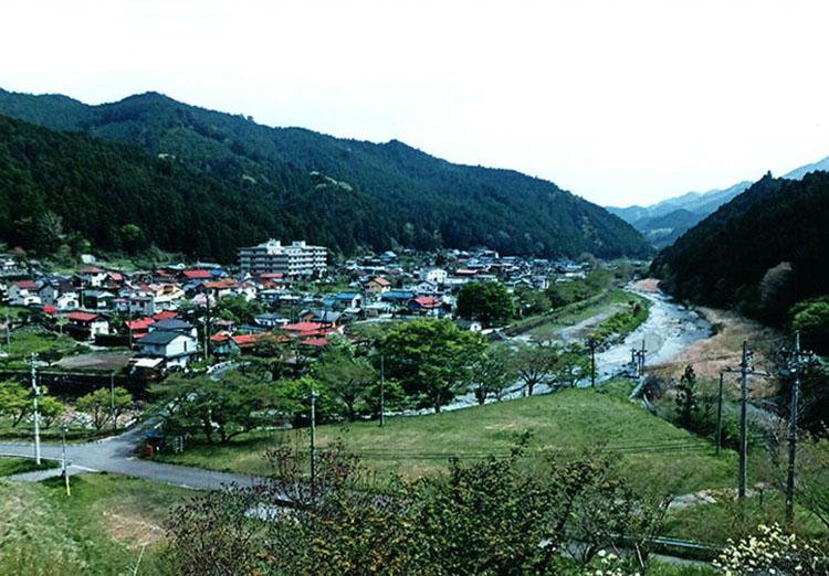 旧名栗村の風景。静かでいい所だ