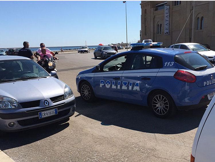警察の現場検証
