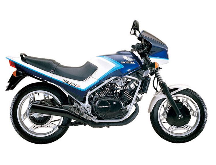 VF400F キャンディアリューシャンブルー×パールシェルホワイト