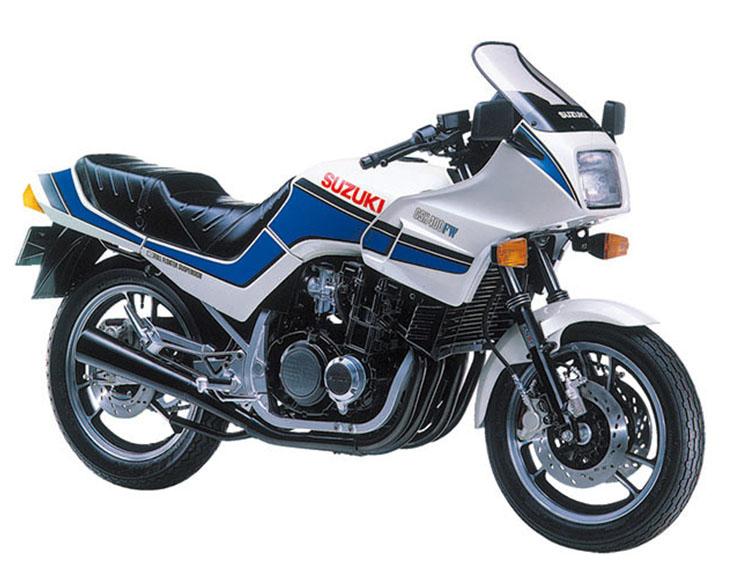 GSX400FW パールシャイニーホワイト