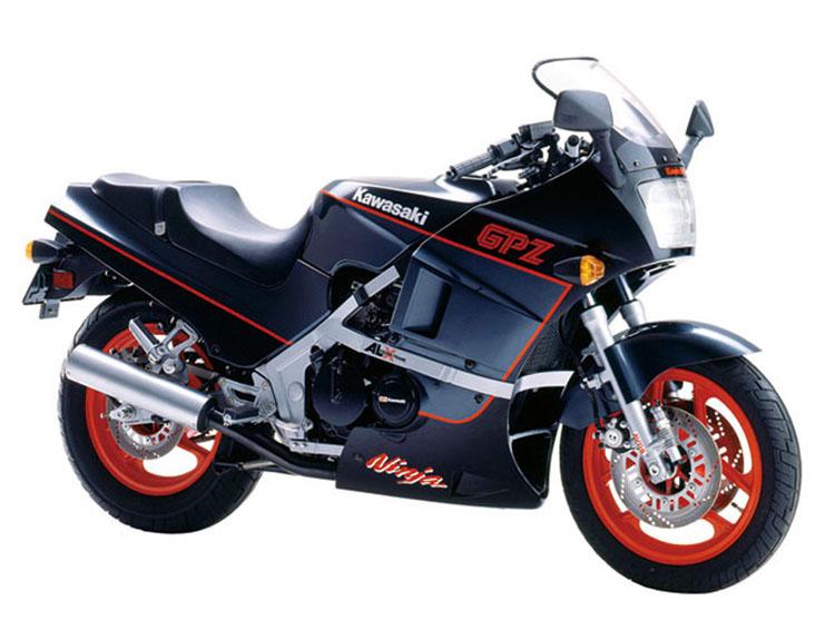 GPZ400RLIMITED エボニー×パールコスミックグレー