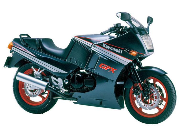 GPX400R パールクスミックグレー