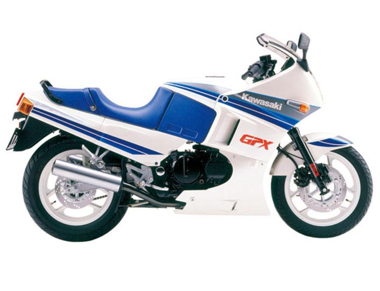 GPX400R パールアルペンホワイト