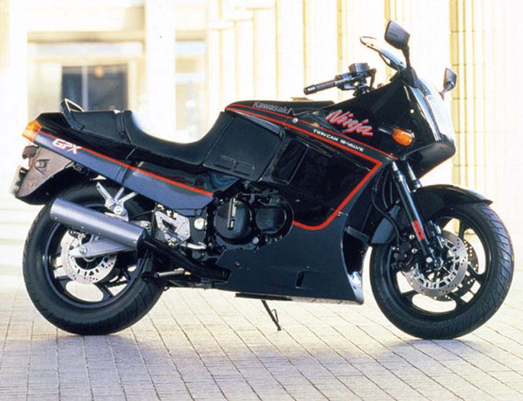 GPX400R エボニー×パールコスミックグレー