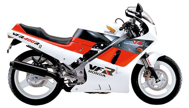 VFR400RNC21_シャスタホワイト×ファイティングレッド