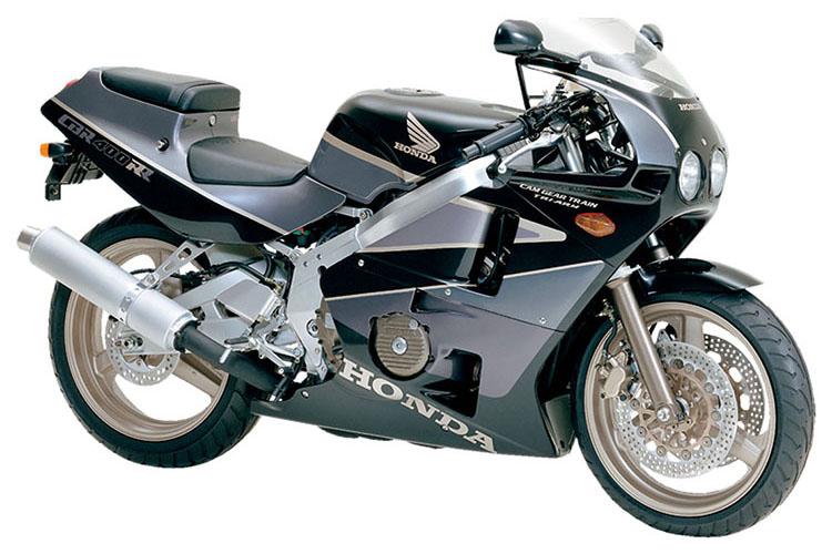 CBR400RR グラニットブルーメタリック×ブリッツグレーメタリック
