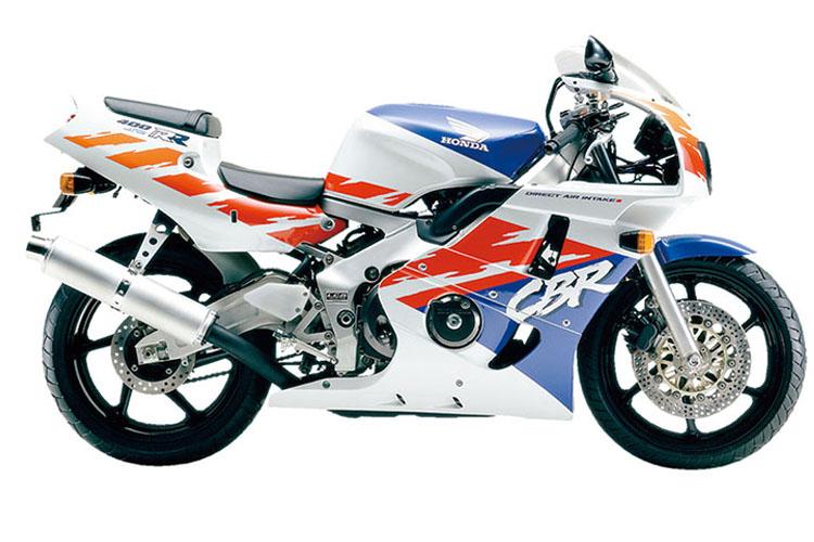 CBR400RR パールクリスタルホワイト×ディオニサスブル−