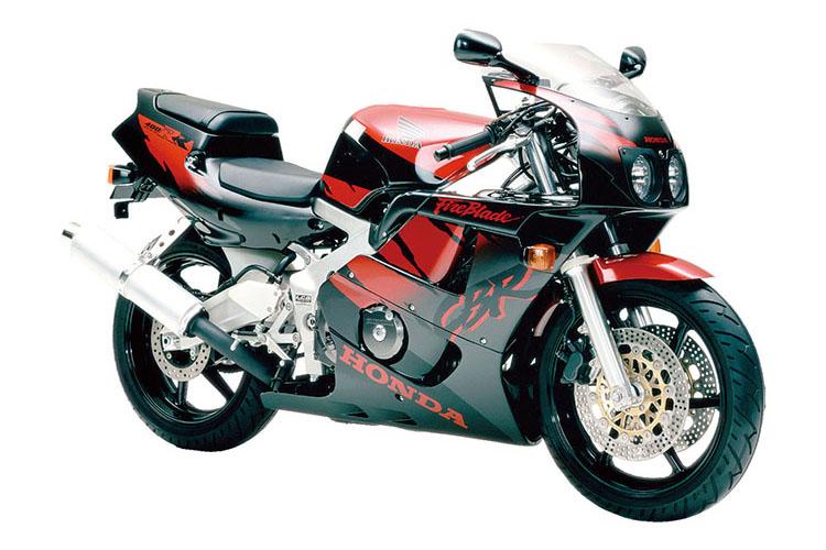 CBR400RR(NC29)_スパークラーブラックパール×プロシオンレッドメタリック