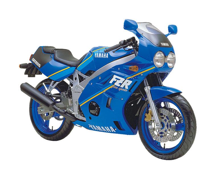 FZR400(1WG)_ファラウエーブルー