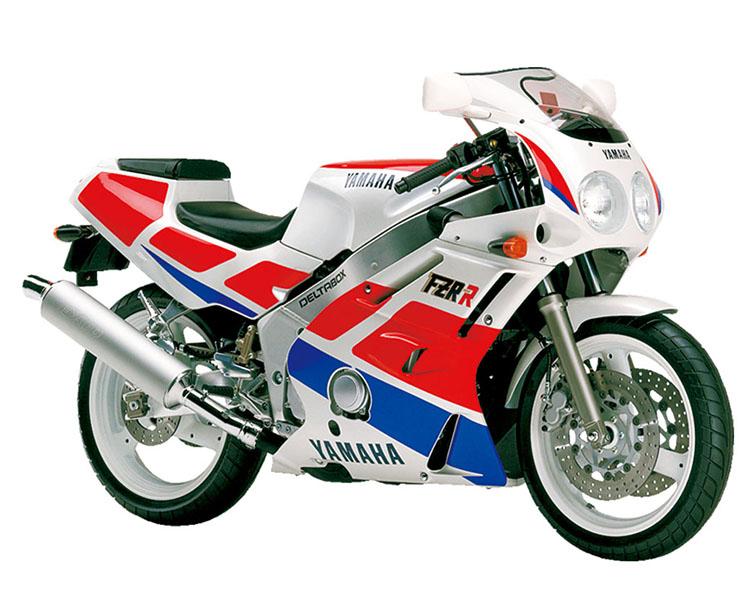 FZR400R(3EN2)_シルキーホワイト×ファインレッド