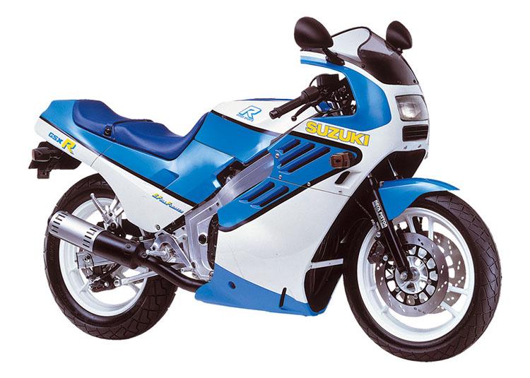 GSX-R ブルー×ホワイトツートン