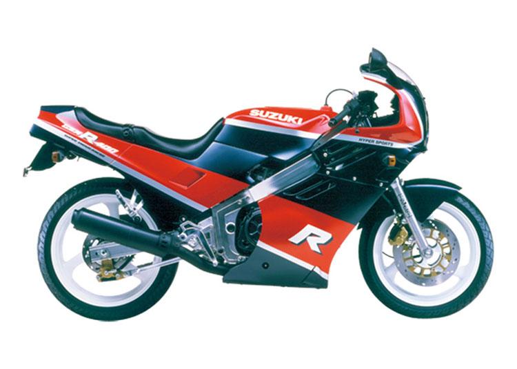 GSX-R(GK71F)_レッド×ブルーツートン