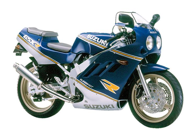 GSX-R400 ブルー×シルバーツートン