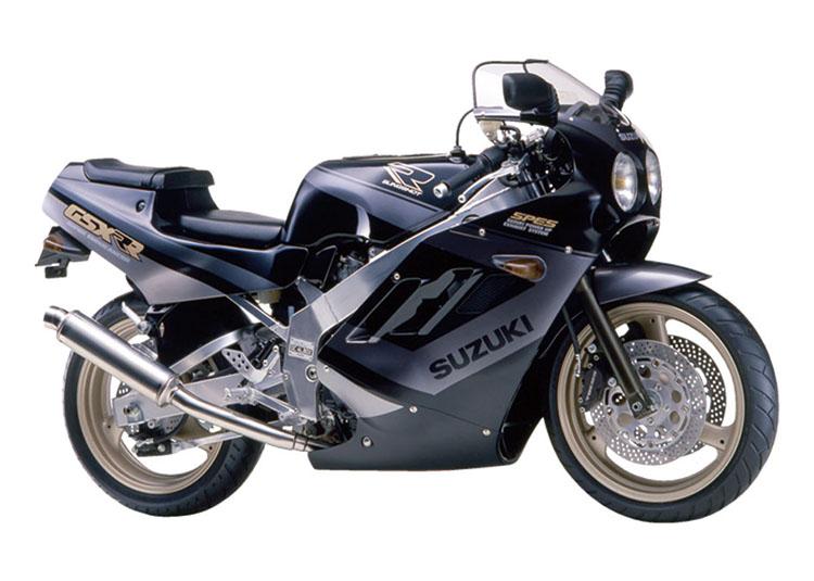 GSX-R ブラック×グレーツートン