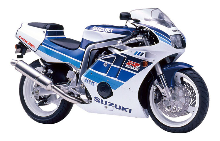 GSX-R400R ブルー×ホワイトツートン