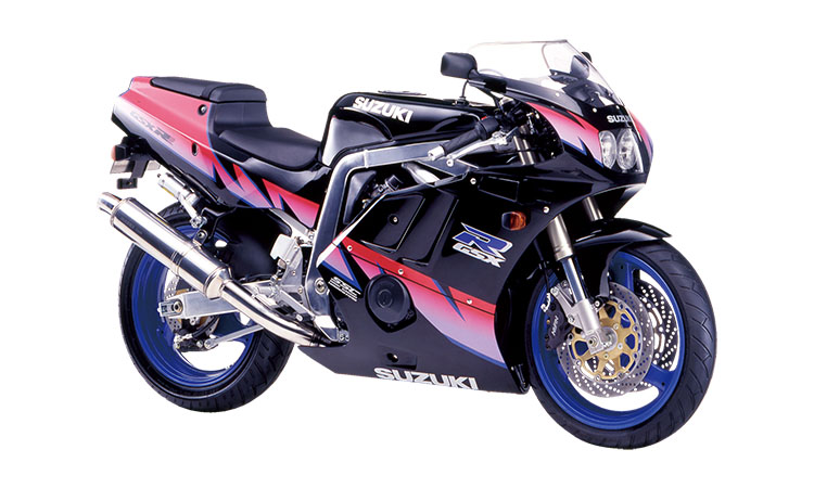 GSX-R400R(GK76A)<br /> _ブラック×ピンクツートン