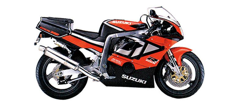 GSX-R400R ブラック×レッドツートン