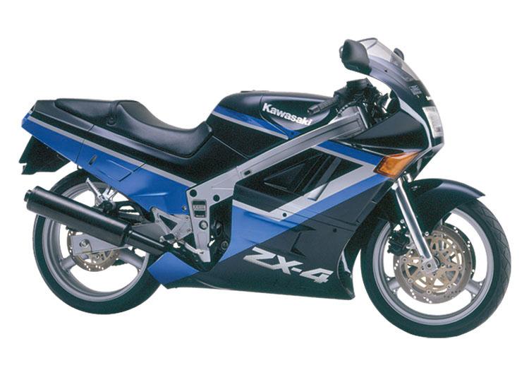 ZX-4 インディゴブルー×メタリックゼウスブルー