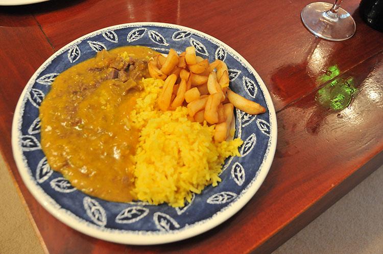 冷凍チンな食事の一例