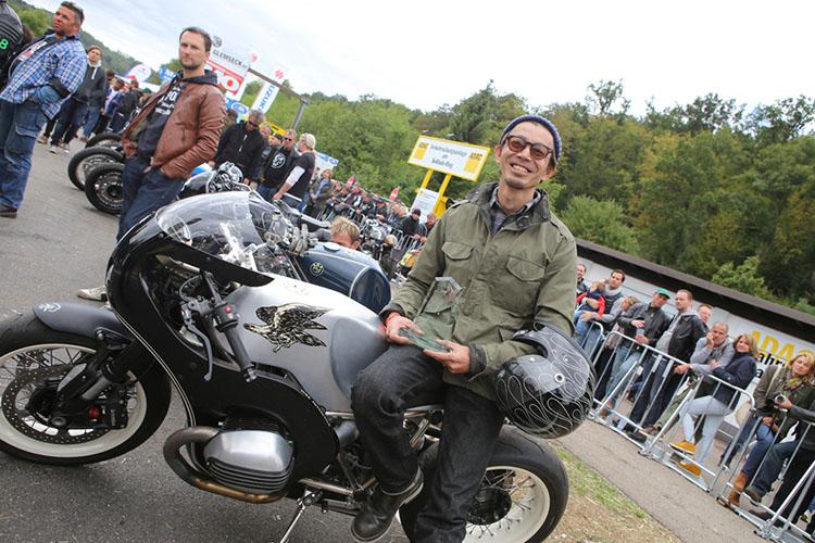 R ninetyカスタムバイクだけのドラッグレース