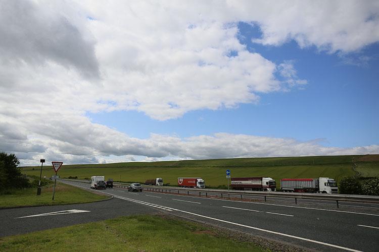 スコットランドとイングランドの国境