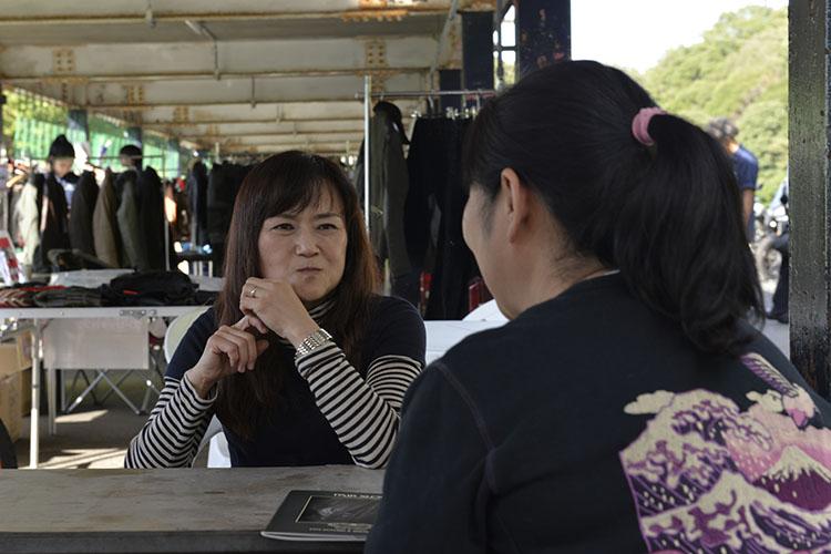 川崎由美子さんによるライディング相談コーナー