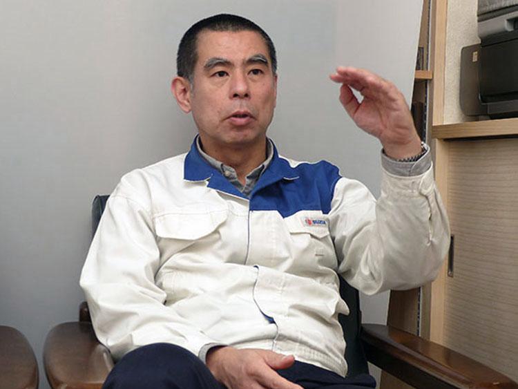 スズキ 二輪事業本部 二輪開発部 レース車両開発課 課長・寺田 覚氏