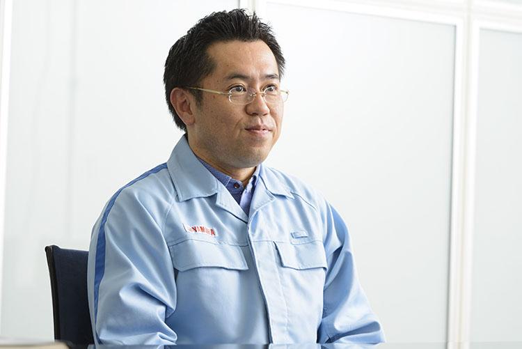 MS開発部モトGPグループ主査・津谷晃司氏