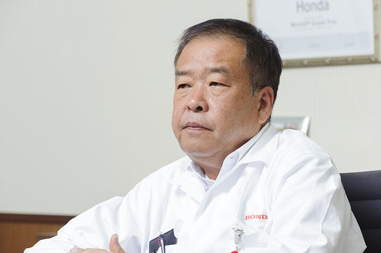 ホンダ・レーシング 取締役副社長 中本修平氏