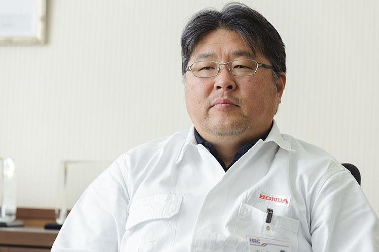 ホンダ・レーシング 開発室室長 国分信一氏
