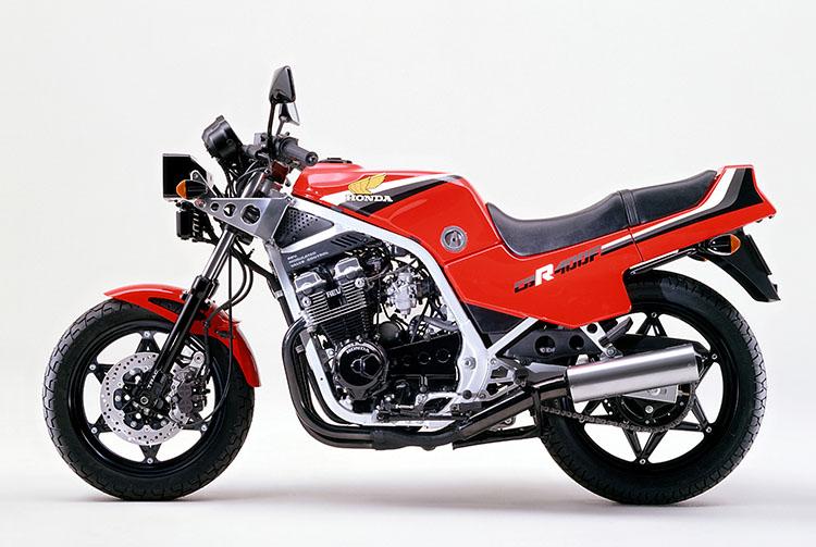 CBR400F モンツァレッド