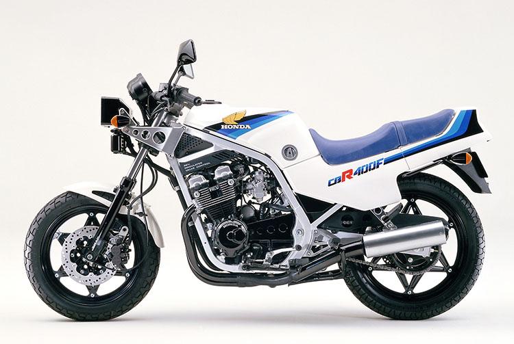 CBR400F パールシェルホワイト