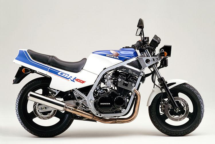 CBR400F シャスタホワイト×タンザナイトブルー